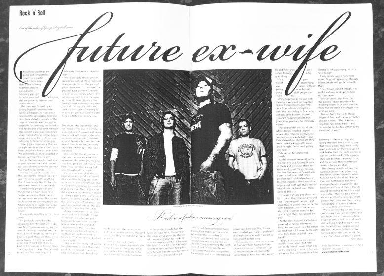 magazine feature spread new