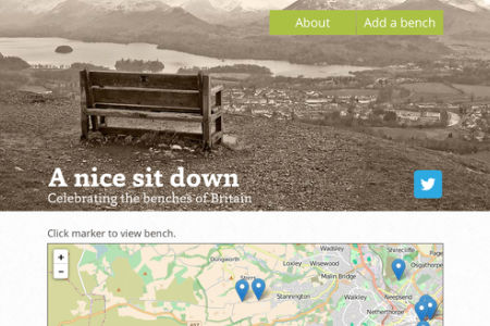 A Nice Sit Down bench website screen grab thumb