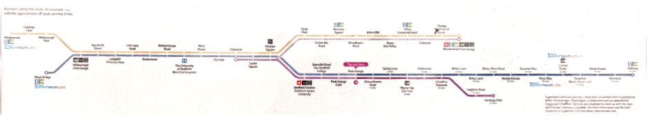 Super tram map - original (photo)