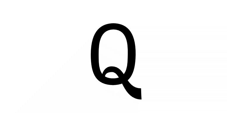 A letter Q