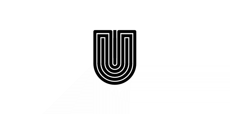 A letter U