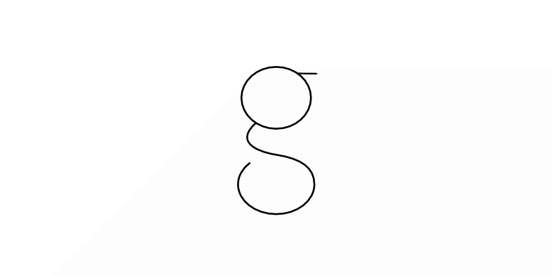 A letter 'g'