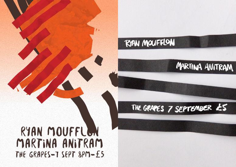 Gig poster – Moufflon –2up