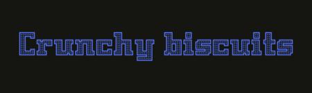 Font design –sample