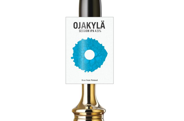 o - beer pump clip