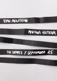 Gig poster – Ryan Moufflon