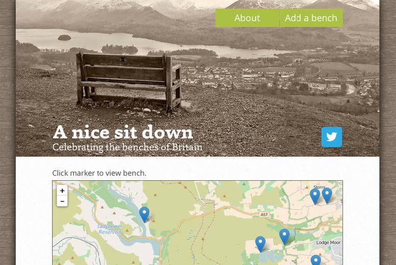 A Nice Sit Down website screen grab